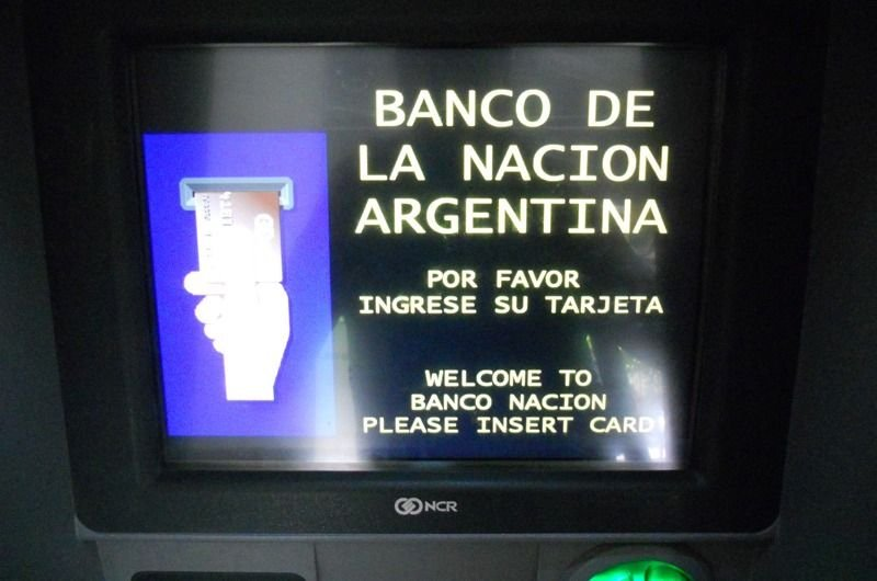 Banco Nación: solo permiten extracciones menores a $1.000 por cajero