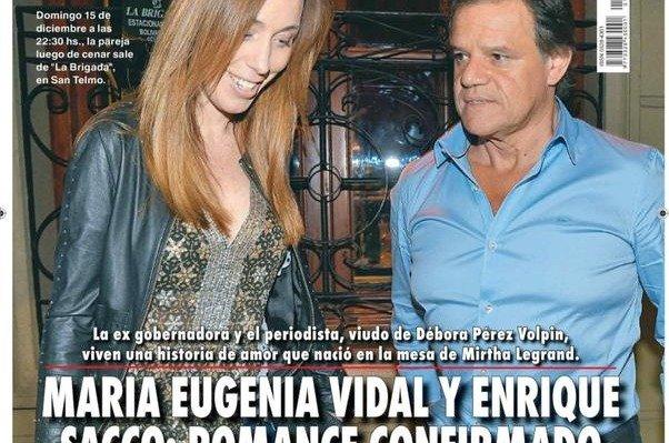 Maria Eugenia Vidal Y Enrique Sacco No Se Esconden Confirmaron Su Romance